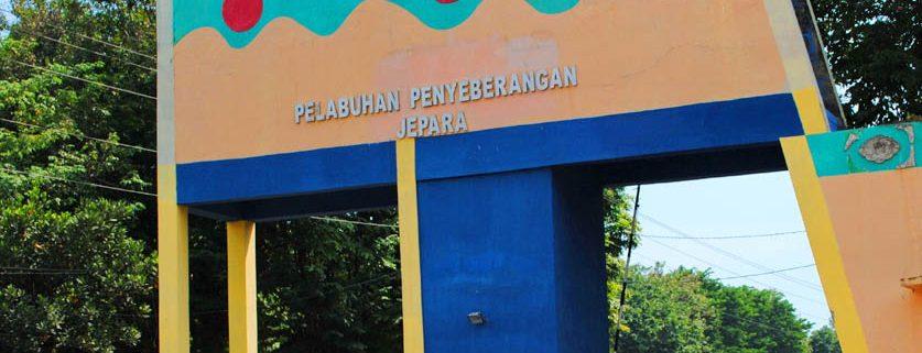 Gerbang Pelabuhan Kartini Jepara